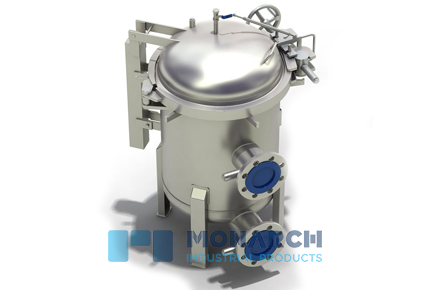 Multi bag filter housing, Bolted closure
