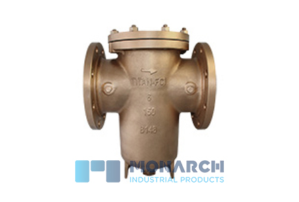 Simplex Basket Strainers in Bronze
